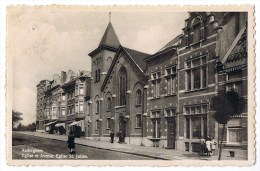 Auderghem Anderghem Oudergem Avenue Eglise St Saint Julien Animée Eglise - Auderghem - Oudergem