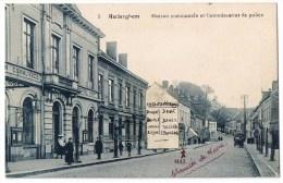 Auderghem Anderghem Oudergem (5) Maison Communale Et Commissariat De Police  Animée Attelage Chaussée Wavre - Auderghem - Oudergem