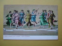 FIRENZE. Le Palais Pitti. La Danse D'Apollon Avec Les Muses. - Firenze (Florence)