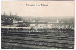 Auderghem Anderghem Oudergem Ville (vers Woluwe) Rails Etang Cafe Mellaerts - Auderghem - Oudergem