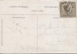 Belgisch Congo Belge TP Congolais C.Courrier De Haute-mer Thysville En 1923 V.Jambes PR1560