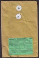 Hong Kong China Airmail Par Avion Label HONG KONG 2014 Cover Brief Bird Vogel Oiseau Douane Costums Zoll Label - 1997-... Sonderverwaltungszone Der China