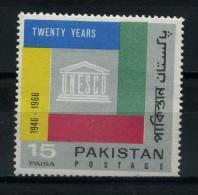 PAKISTAN   1966    20th  Anniv  Of  U N E S C O        MNH