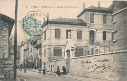 01 // TENAY  Institution Saint Joseph Et Rue Centrale  5 ** - Andere Gemeenten