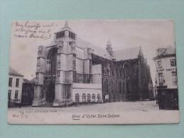 L'Eglise Saint-Sulpice () Anno 19?? ( Zie Foto Details ) !! - Diest