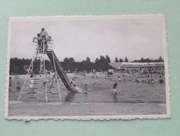 """"""" De HALVE MAAN """" III Het Strand - Tobogan () Anno 1954-64 ( Zie Foto Details ) !! - Diest"""