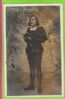 Mezy in 'Hamlet'Th�atre Royal  1909-1910  autographe