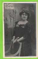 Marcelle Gavelle Premi�re Dugazon 1909-1910 Theatre Royal d�Anvers, Autographe