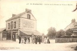SAINT-NAZAIRE - VILLE ES MARTIN - Café MOREAU - AUX RAYONS X - VASSELLIER éditeur - Saint Nazaire