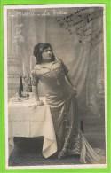 Lystiane Doriani  in 'La Tosca'Falcon Th�atre Royal d�Anvers   1911 autographe