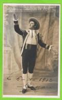 Dezair in (Barbier de Sevilla' Baryton Op�ra Comique,Th�atre Royal d�Anvers 1912 Handtekening