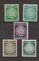 1954 Alemania Oriental - Deutsche Demokratische Republik DDR MNH** - Nuevos