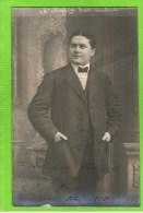 Henri Hardy  Premi�re Basse Op�ra Comique autographe 1909