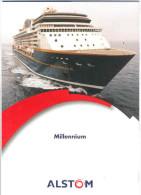 El1.f- Paquebot MILLENIUM RCCL Chantiers Atlantique Royal Caribbean Celebrity Cruises Infinity Summit Constella - Technics & Instruments
