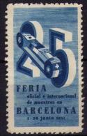 Vignette Cinderella Feria Barcelona 1937 - Espagne