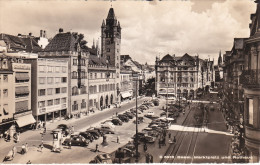 "Suiza--Basel--Marktplatz Und Rathaus--"""" Tranvias """" - BS Bâle-Ville"