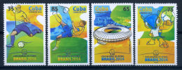 Cuba 2014 / Football World Cup Brasil Soccer MNH Copa Mundial Futbol Brasil 2014 / C8209   C - Fußball-Weltmeisterschaft