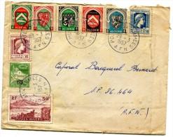 ALGERIE CAD Poste Aux Armées AFN Sur Timbre D'Algérie Pour Le Secteur Postal 86464 29.3.1957.   .G - Algérie (1962-...)