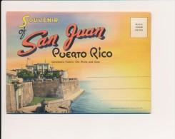 CPSM PUERTO RICO Carte-lettre 18 Vues Of SAN JUAN PUERTO RICO - Puerto Rico