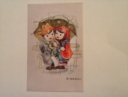 Illustrata R. Ferrini Non Viaggiata F.p. - Illustrateurs & Photographes