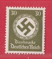 MiNr.175 Xx Deutsches Reich Dienstmarken - Dienstpost