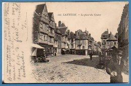 22 - LANNION --  La Place Du Centre - Lannion