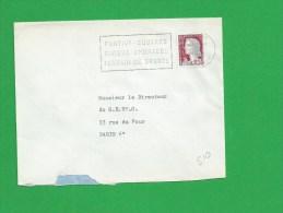 SECAP MORBIHAN PONTIVY Squares Riviere Ombrages Terrain De Sports - Postmark Collection (Covers)