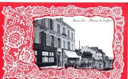 95 Saint Leu La Foret , Avenue De La Gare, Carte Gaufree - Saint Leu La Foret