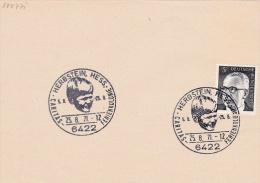 Germany Special Cachet: 1971 Herbstein Caritas Feriekolonie   (G71-72) - Covers & Documents