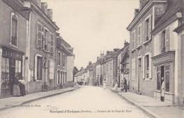 Savigné L Eveque Sarthe 72 Centre De La Grande Rue - France