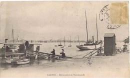 Cpa NANTES Debarcadere De Trentemoult - Nantes