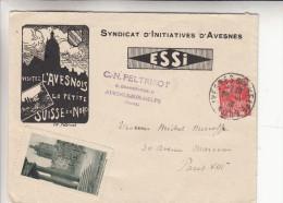 "Enveloppe Du ""syndicat D'initiatives D'avesnes"" - Unclassified"