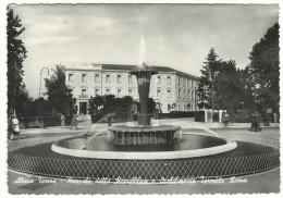 1954, Padova , Abano Terme - Piazzale Della Repubblica E Stabilimento Termale Roma. - Padova