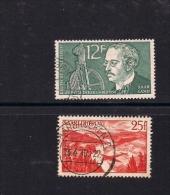 SAARLAND, 1958, Cancelled Stamps,  Rudolf Diesel, MI-432-433, #13260 - French Zone