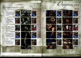 GREAT BRITAIN - 2009  CHRISTMAS GENERIC SMILERS SHEET   PERFECT CONDITION - Fogli Completi