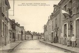 Savigné L Eveque Sarthe 72 Centre De La Rue Principale Gendarmerie 2970 - France