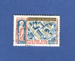 1960  N° 1280  STATUETTE DE SAINTE BARBE OBLITÉRÉ - France