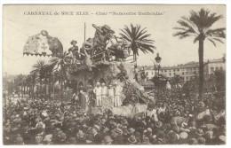 "1927, Carneval De Nice XLIX - Chev ""Rencontre Inattendue"" - Carnevale Di Nizza XLIX - Carro ""Incontro Inatteso"" - Padova"