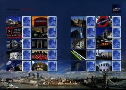 GREAT BRITAIN - 2010  LONDON EXPO  GENERIC SMILERS SHEET   PERFECT CONDITION - Fogli Completi