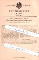 Original Patent   - F. Kricheldorff In Berlin , 1901 , Spiegel - Reflexcamera Mit Rouleau - Verschluß !!! - Cameras