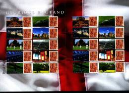 GREAT BRITAIN - 2007  GLORIOUS ENGLAND GENERIC SMILERS SHEET   PERFECT CONDITION - Fogli Completi