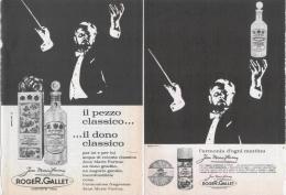 1965  - Jean Marie Farina (ROGER E GALLET) (eau De Cologne - Sapone - Deodorante)  -  3  P.  Pubblicità Cm. 13,5 X 18,5 - Magazines