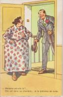 Carte Systeme Grivoise Jean CHAPERON Madame Est Dans Sa Chambre - Chaperon, Jean