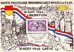 Wiltz - 31.08.1942 - Cartes Commémoratives