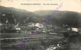 26. SAINT MAURICE D'HOSTUN . Vue Des Carrières . - Otros Municipios