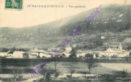 26. SAINT MAURICE D'HOSTUN . Vue Générale . - Otros Municipios