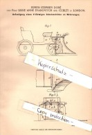 Original Patent - E.S. Doré And L. Evanovitch , Cubley In London , 1901 , Shield For Motor Vehicles , Automobile !!! - Cars