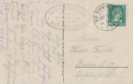 DR AK EF Minr.387 KOS Bad Schwarzbach (Isergeb.) 19.9.27 - Deutschland