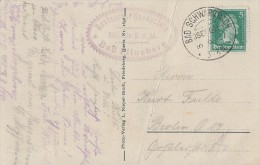 DR AK EF Minr.387 KOS Bad Schwarzbach (Isergeb.) 19.9.27 - Briefe U. Dokumente