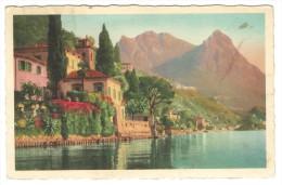 Como, Valsolda - Lago Di Lugano. Oria - Villa Fogazzaro. - Como